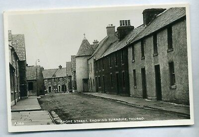 THURSO    Shore Street   showing the Turnpike  RP