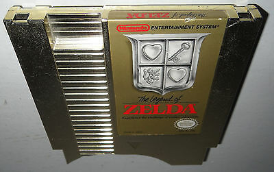 DISCOUNTED Nintendo NES Game THE LEGEND OF ZELDA Tested Cleaned Authentic SAVES!