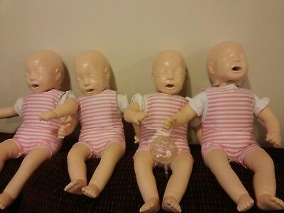 Laerdal CPR Manikin Baby Anne 4 Pack Perfect condition w/ Extra lungs