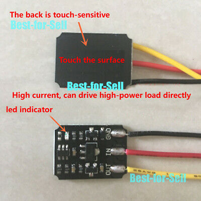DC 3V-18V 5V 12V 2A Capacitive Touch Bistable Electronic Switch Module LED Relay