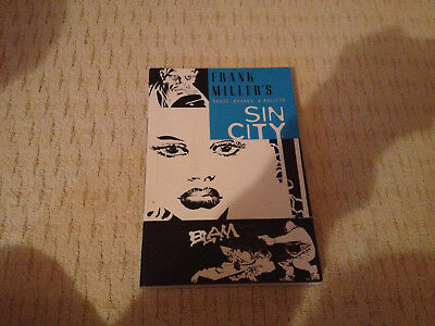Sin City: Booze Broads And Bullets ,by Frank Miller paperback Graphic Novel