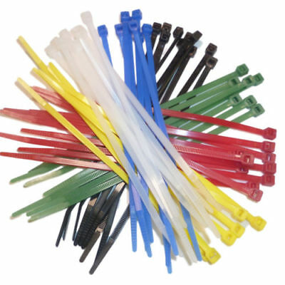 "12"" Long Cable Ties 300 x 4.8mm All Colours Choose Quantity Cable Tie Nylon 66"