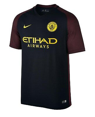 Brand New Genuine Manchester City 2016/17 Away Shirt   Adults Mens XXL