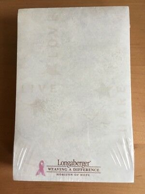 "Longaberger 2003 Horizon of Hope Notepads  4"" x 6"" Note Pads - Set of 6"