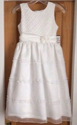 Girl's Jayne Copeland Confirmation Dress Size 12 New!