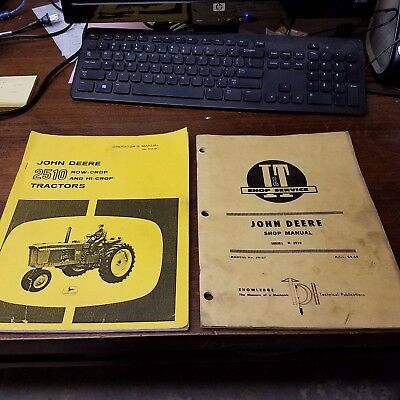 John Deere 2510 operators and service manual
