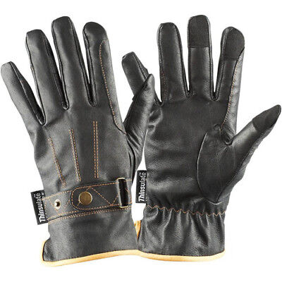 Mark Todd Winter With Thinsulate Womens Gloves Everyday Riding Glove - Black
