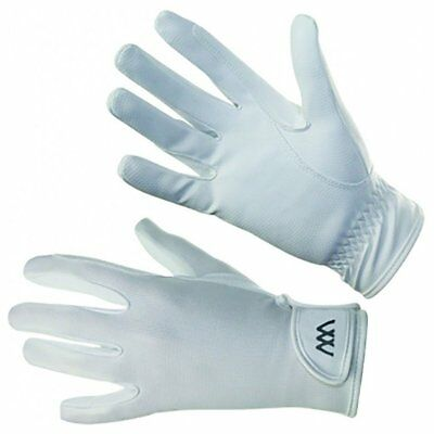 Woof Wear Connect Unisex Gloves Everyday Riding Glove - White All Sizes