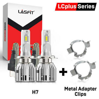 LASFIT LED Headlight Bulb H7 Clip Adapter Holder Retainer for VW Jetta 2014-2017