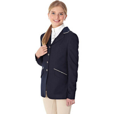 Just Togs Mizz Childs Beverley Kids Jacket Competition Jackets - Navy All Sizes
