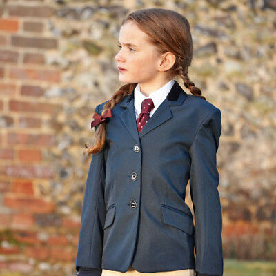 Dublin Haseley Childs Kids Jacket Competition Jackets - Navy/silver All Sizes