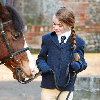 Dublin Cubbington Childs Tweed Kids Jacket Competition Jackets - Navy All Sizes