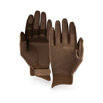 Tredstep Show Hunter Unisex Gloves Competition Glove - Brown All Sizes