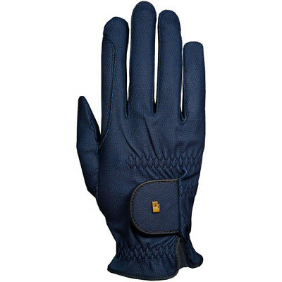 Roeckl Chester Grip Winter Unisex Gloves Competition Glove - Navy Blue All Sizes