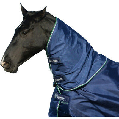 Bucas Smartex Combi Unisex Horse Rug Neck Cover - Blue All Sizes