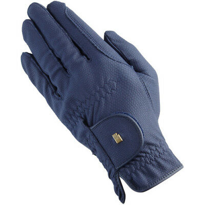 Roeckl Chester Unisex Gloves Competition Glove - Navy All Sizes