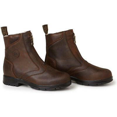 Mountain Horse Mens Spring River Boots Paddock - Brown All Sizes