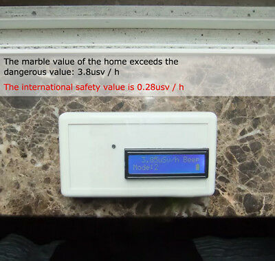 Vakind Noncontact High Sensitive Electromagnetic Radiation Detector Source · Geiger Counter Nuclear Radiation Detector Marble Tile