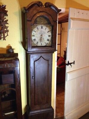 Old Grandfather Clock In Need Of Restoration