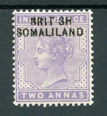 "Somaliland 1903 2a pale violet ""BRIT SH"" SG3a MLH cat £400"