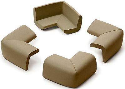 Prince Lionheart CORNER GUARDS CHOCOLATE Baby/Child/Toddler Safety Proofing BN