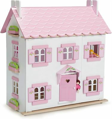 Le Toy Van SOPHIE'S HOUSE Wooden Dolls House Playset Child/Toddler/Kids BN