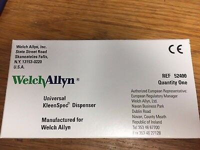 Welch Allyn Universal KleenSpec Dispenser - Reference: 52400 - New