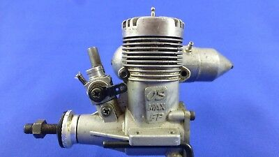 Model Airplane Vintage Engines Os Max Fp .40 R/c Glow With Muffler Japan