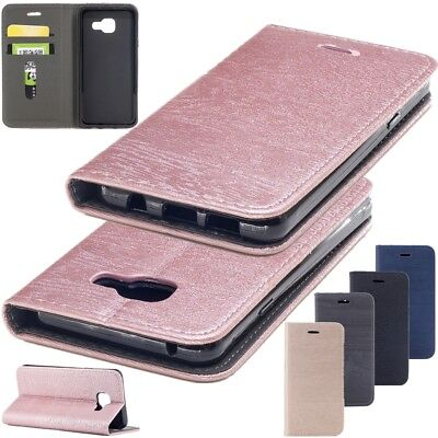 Flip Magnetic Wallet PU Leather Case Cover Stand For Samsung Galaxy A3 A5 J3 J5