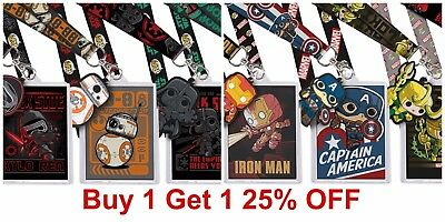 Buy 1 Get 1 25% OFF (add 2 to cart) Funko Lanyards Marvel Star Wars DC