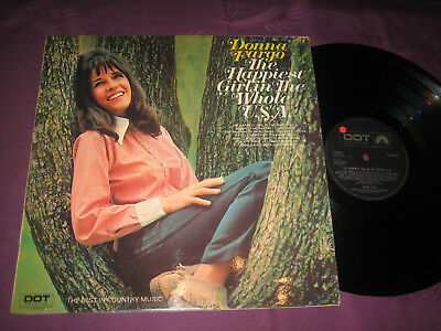 LP Donna Fargo: The Happiest Girl In The Whole USA - UK Dot SLPD 542
