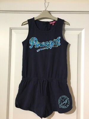 Girls Pineapple Playsuit Age 11-12