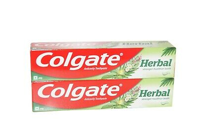 2 X Colgate Herbal Anticavity Toothpaste 200gm / Stronger Healthier Teeth
