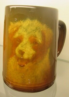 Very Rare Rookwood Portrait Dog Mug E.t. Hurley Mold # 587 C Circa 1933