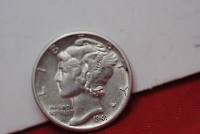 1941 D Mercury Dime Uncirculated