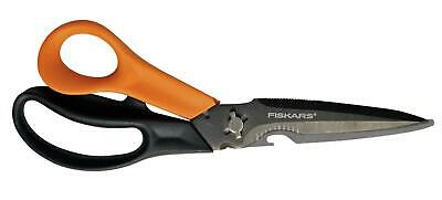 FISKARS 23cm Multi-Purpose Scissors Multifunction Ultimate: Cuts+More™