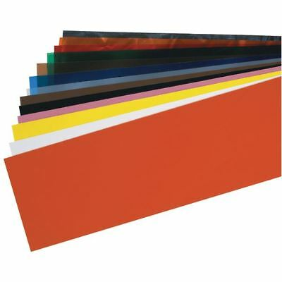 "TTC PSS5A 14 Piece Plastic Shim Stock Assortment - 5"" x 20"" Color Coded Sheets"