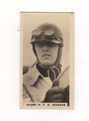 Who's who in Sport 1926 Motor Car Racing - Major Seagrave