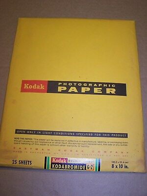New-Old-Stock Package of Kodak 8x10 Photographic Paper