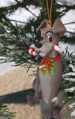 Tramp Lady And The Tramp Disney Grolier Christmas Collectible Rare Xmas Ornament