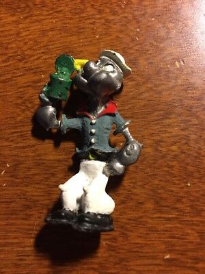 Vintage  Popeye The Sailor With Spinach Can 2""