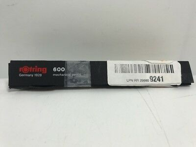 rOtring 600 Mechanical Pencil, 0.7 mm, Black Barrel