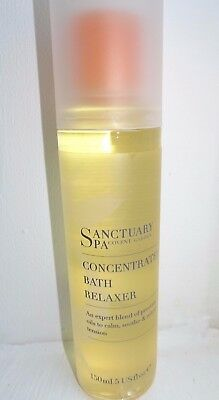 Sanctuary Spa Bath Oil Relaxer Concentrated 150ml Almond Primrose Jojoba 1 or 2