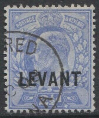 BRITISH LEVANT KEVII 1903 Issue 2 1/2d Scott 11  SG11  Used cv £38