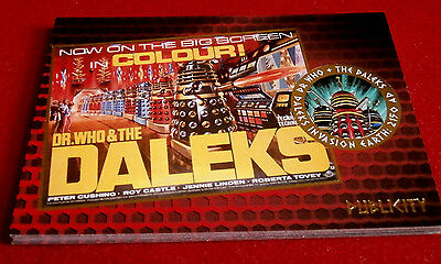 DR WHO & THE DALEKS - COMPLETE CHASE SET of 9 GOLD FOIL cards - 2014