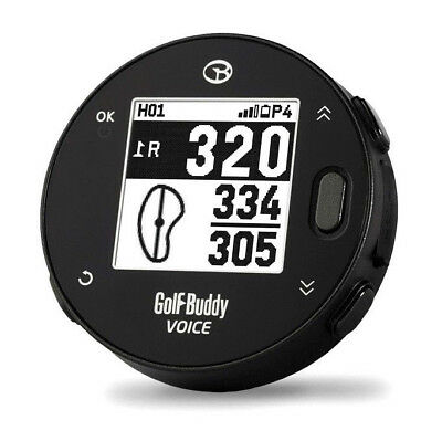New 2017 Golf Buddy Voice X Black GPS Rangefinder - 38,000 Courses Preloaded