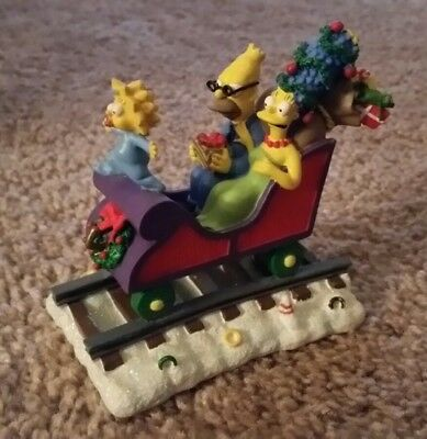 "Simpsons Christmas Express Collection ""All Aboard for the Holidays"" 2003"
