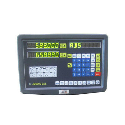 Display Meter Digital Readout for Milling Lathe Machine Linear Scale 2 Axis DRO