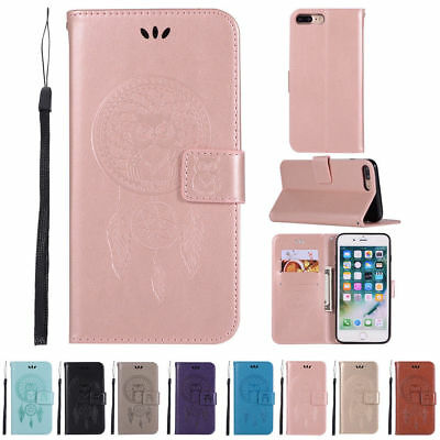 Luxury Magnetic Leather Wallet Case Stand Flip Cover For iphone 10 X 8 7 6 Plus