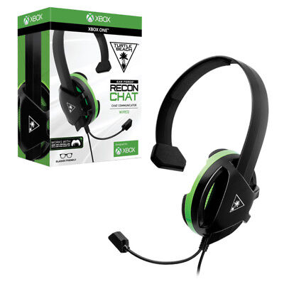 Turtle Beach Turtlebeach Ear Force Recon Chat Wired Headset for Xbox One NEW